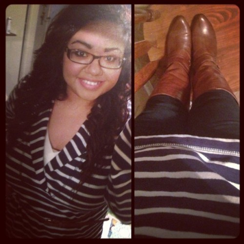 Outfit of the day. #ootd #fashion #fall #jcrew #hm #boots #bcbg #marcjacobs #jamesavery #michaelkors