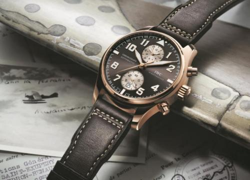 The Pilot's Watch Chronograph by IWC: A tribute to French pioneering aviator Antione de Saint-Exupéry.  Yes, that's right, THAT Saint-Exupéry, author of 'The Little Prince' (Le Petit Prince). The dude was also a record-breaking pioneer of flight.