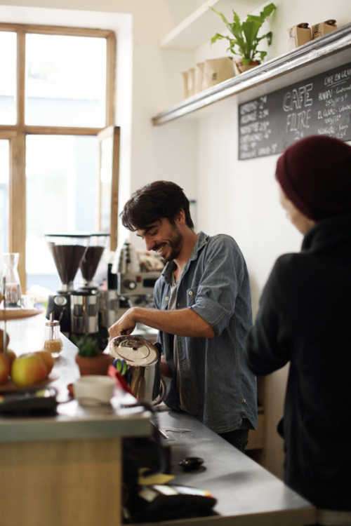 justinchungphotography:  Thomas Lehoux, barista/owner of Ten Belles.