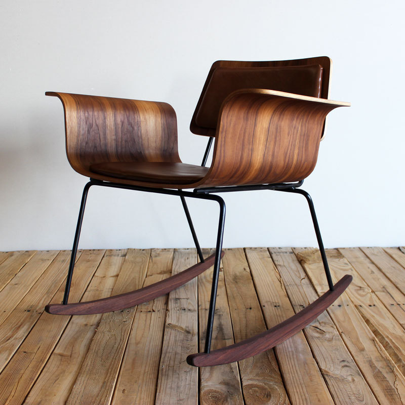 beatpie:  Bent plywood rocker