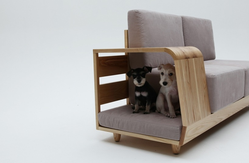 Dog design furniture sofa industrial design industrialist for Industrial couch