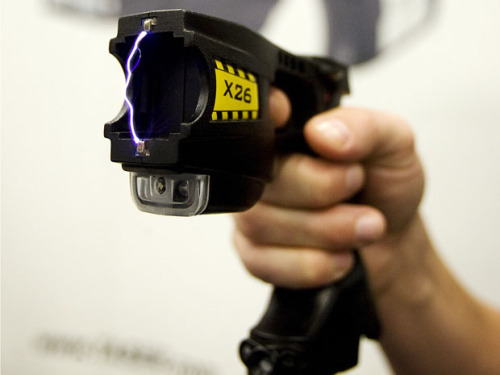 "nationalpost:  Blind man Tasered after police mistake his white cane for a samurai swordBritish police apologized on Wednesday for using a stun gun on a blind man after officers mistook his white cane for a samurai sword.Officers were responding to ""a number of reports that a man was walking through Chorley armed with a samurai sword,"" when they confronted Colin Farmer, who was on his way to meet friends in a pub last Friday, in the northern English town.""I certainly didn't know they were police — and I certainly didn't know they were shouting at me. I thought I was going to be attacked by some hooligans,"" Farmer told the Lancashire Evening Post newspaper. (Christinne Muschi/Reuters)  at least they didn't kill him; in North America they would have."