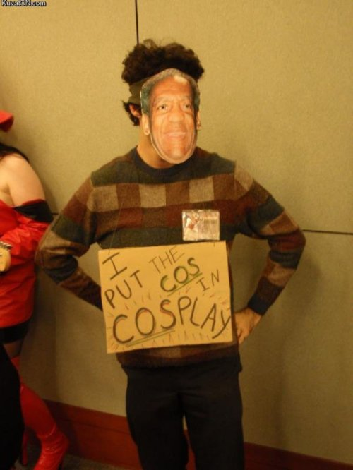 Some Real Cosplay This guy definitely won Comic Con.