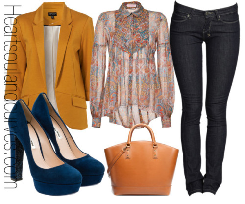 usaynappylikeitsabadthing:  heartsoulandcurves:  Fall Color Blocking (Part 3)… If I was your stylist    She's my stylist….she just doesn't know it….yet