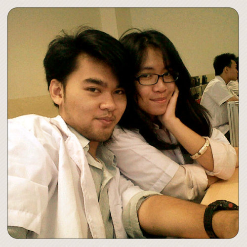 with @Rezkinda (web (Photo taken and uploaded via MOLOME )