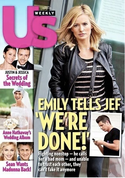 "Well, we all know by now that Emily Maynard and Jef Holm have broken up. However, while it is claimed that the split was ""heartbreaking"", insiders claim the opposite. Insiders are saying the Emily was miserable in the relationship, wanted out, and was at her breaking point at the end."
