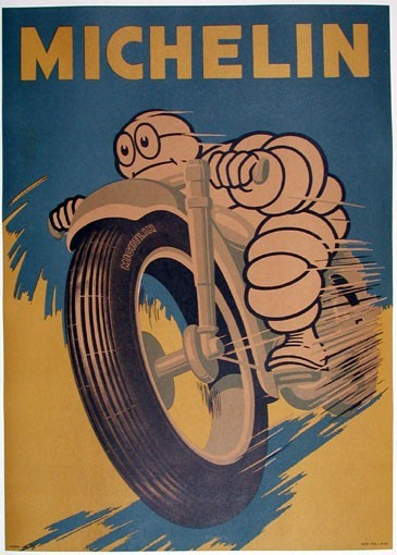 We're pretty proud of our mascot, the Michelin Man. From his early days as the somewhat slimmed down cartoon drawn by O'Galop to his now fully animated version.  We've seen some lovely depictions of him along the way and are collecting more on Pinterest. Tag your images #MichelinMan for a chance to be included in our board.