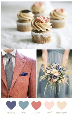 silvaluminaria:  I think this color scheme for a wedding would be sooo pretty.