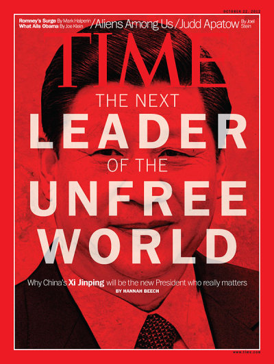 TIME Magazine Cover on Oct. 22, 2012   What do you think of this cover?