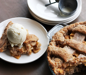 findvegan:  Dreena Burton's amazing, fail-proof apple pie - WINNER!