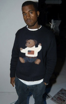 highsnobiety:  Kanye West used to look really adorable before he was spotted at Fashion Shows wearing Givenchy, Louis Vuitton
