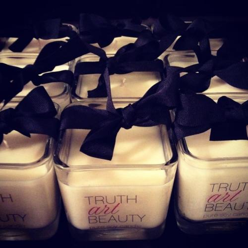 Truth Art Beauty Pure Soy candles