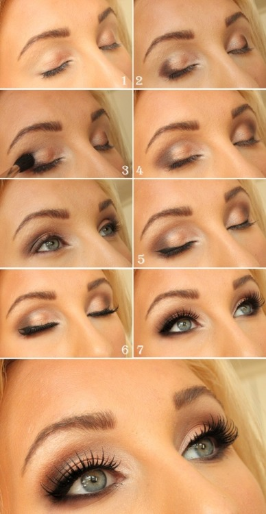 brokecollegestyle:  How to/Heavenly eyes  The best part about this is that it'll look great on any eye color!