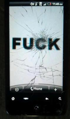 Dropped my phone.
