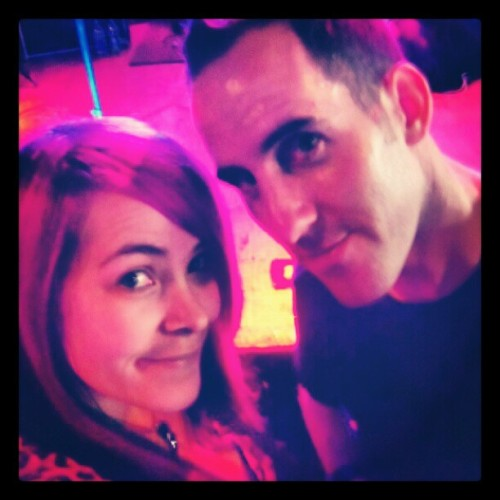 Just found this pic of @chuckcomeau and I on my phone!!