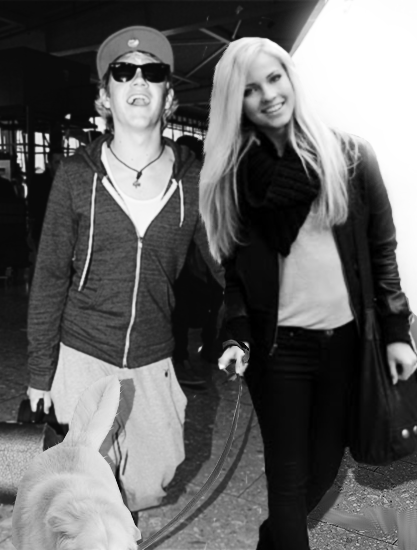 Emilie Nereng & Niall Horan ft. a dog :)