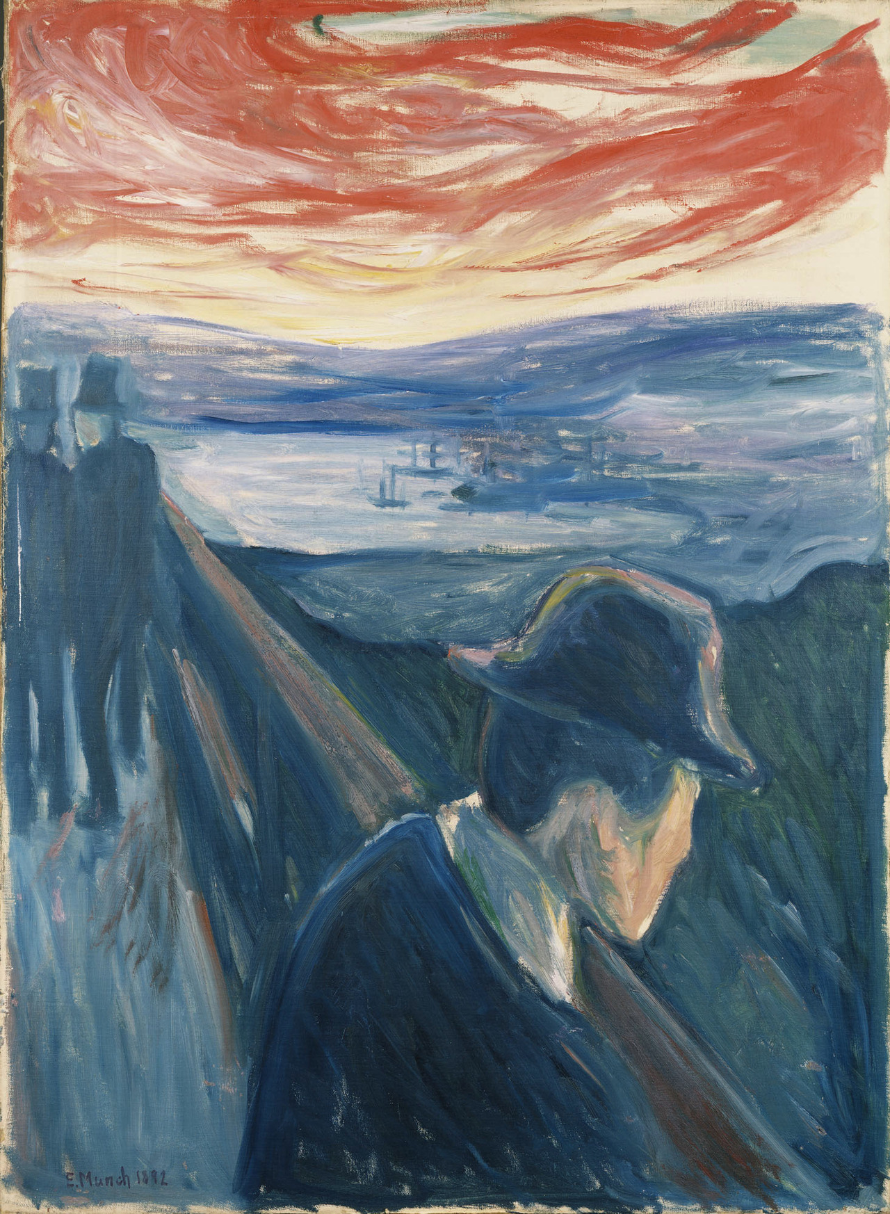 nevver:  Despair, Edvard Munch