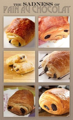 thedailywhat:  The Sadness Of Pain Au Chocolat of the Day: Breakfast will never be the same. By Ben Horsley. [seriouseats]