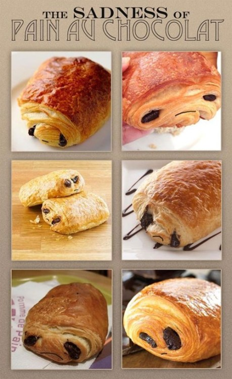 The Sadness Of Pain Au Chocolat of the Day: Breakfast will never be the same. By Ben Horsley. [seriouseats]