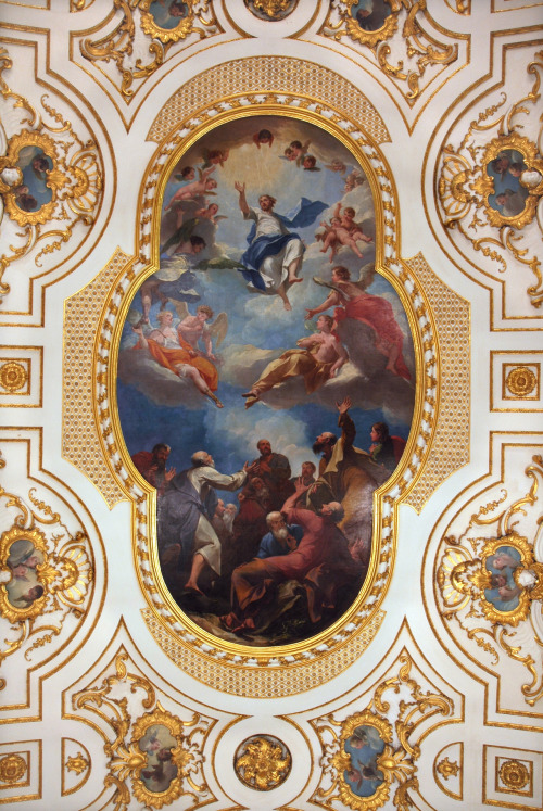 tuthmosis:  Ceiling in Great Witley Church, Worcestershire by Antonio Belucci