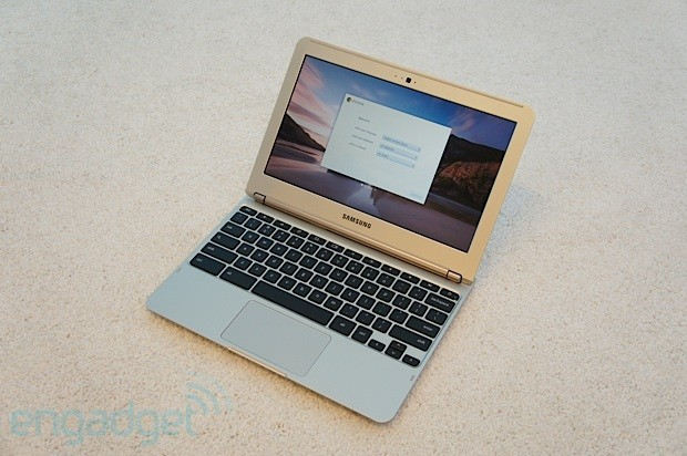 (via Google 11.6-inch ARM-based Samsung Chromebook hands-on — Engadget)