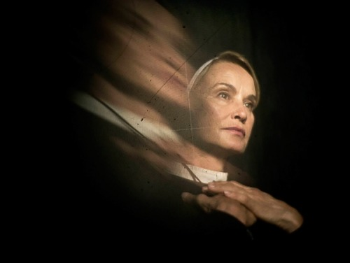 (via 'American Horror Story: Asylum' Recap: Productivity, Prayer and Alien Hands | Movies News | Rolling Stone) Hey babies, I'm recapping this season of American Horror Story for Rolling Stone. The pilot is beyond cheezmo, but the scenes of Jessica Lange sensually rubbing herself with oils while wearing a nun's habit? God, I mean, no one can fuck with that.