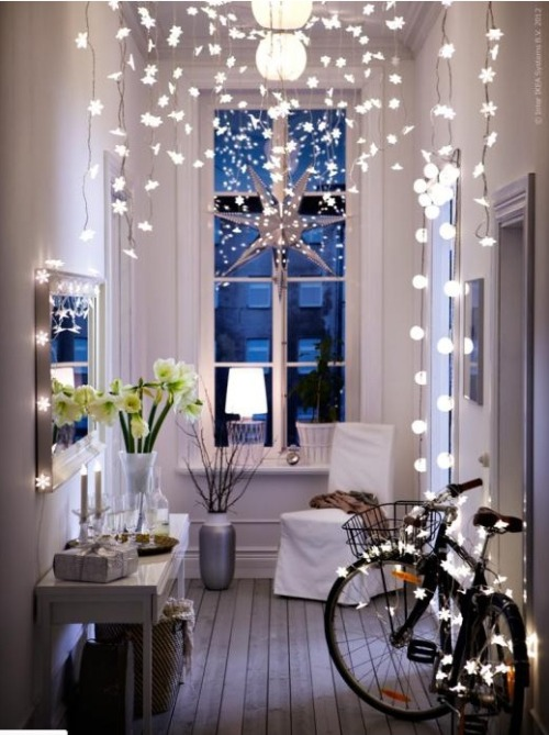 origami-dolls:  fairy lights. ahhhh - let me live here!