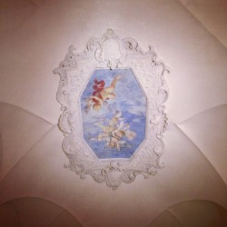 Ceilings - Il cielo in una stanza. #bologna #cafe #palace #mansion #painting #angels #drinks #igers #igersitalia #igersbologna #iphonesia #iphoneography #ink361 #instagood #instamood #art #images #renaissance