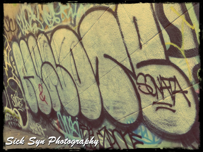 BRIDGE GRAFFITIby ~SynfulSick Photography / Urban & Rural / City Life©2012 ~SynfulSick   Graffiti on the Manhattan Bridge; NYC