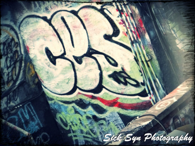 ROOF TOP GRAFFITIby ~SynfulSick Photography / Urban & Rural / City Life©2012 ~SynfulSick   Graffiti in China Town; NYC