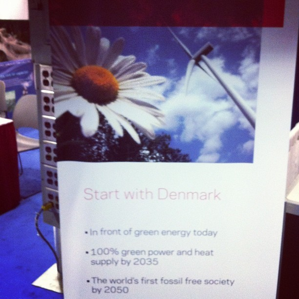 Denmark's cleantech pitch  (at Omni Shoreham Hotel)
