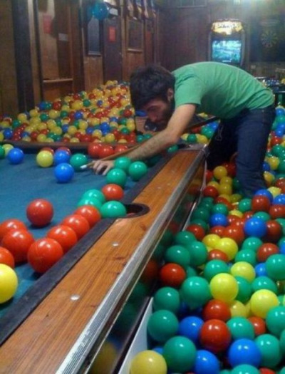 collegehumor:  Behind the Scenes shooting Ball Pit Bar