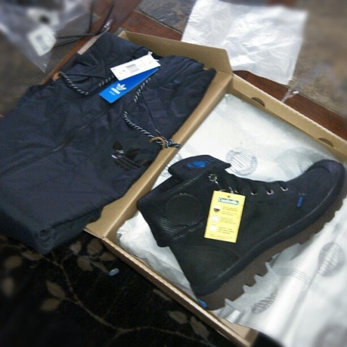 #palladium Guesset boots an my AR jkt came in today