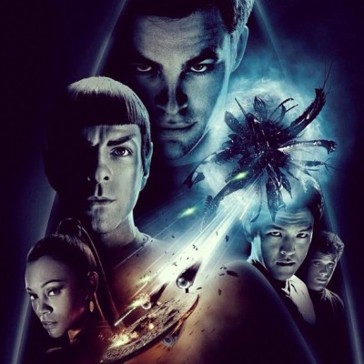 Watching this badass flick…! #StarTrek #JJAbrams #BadRobot #ParamountPictures #ChrisPine #ZacharyQuinto #CaptainKirk #Spock #BluRay