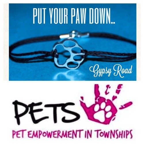 Hi guys we raising funds for facebook/pets-jhb every bracelet sold R10 goes to help our 4 legged friends. email gypsyroadsa@gmail.com like facebook\gypsyroadsa #support#gypsyroadsa #pets#fundraising#paw#fashion#bracelet#silver#fashion#bestfriend#intagram#intstafun#style#forever#give#share#like#love#gift#christmas#boys#girls#string#dedign#streetstyle#