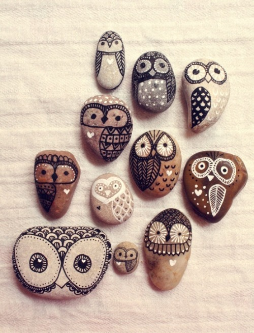 #rockart #owls #luv #inspiration