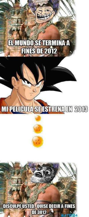 Mayas culiaos Con Dragon Ball no se meten