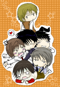 danyuri483:  Shinobu-chin on top haha   SO KAWAIIII <3