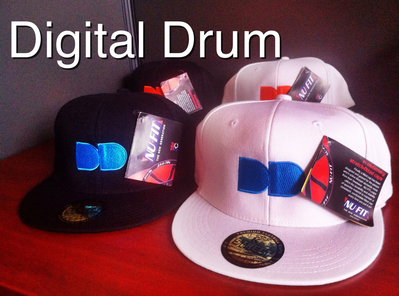 New Digital Drum Schwag! Remember to visit DigitalDrum.ca and join up with us!