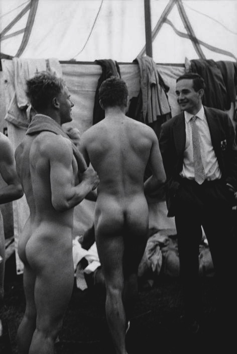 Locker Room 1964   Photo: Leonard Freed