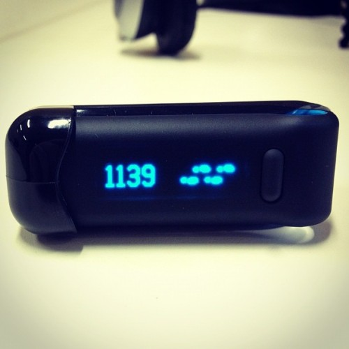 And so it begins… #fitbit #fitness #fitocracy #tracker #health