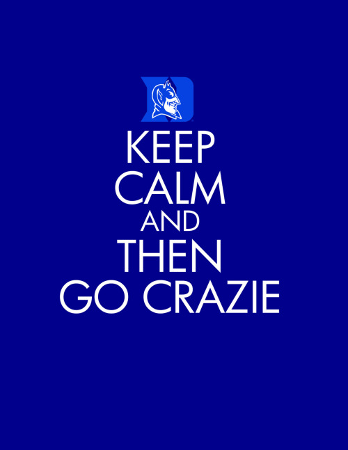 Keep calm and then go Crazie.