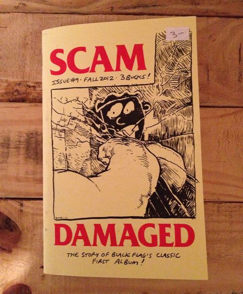 portlandbuttonworks:  Scam #9: Damaged- The story behind the classic first Black Flag album is now available in our distro: http://www.portlandbuttonworks.com/store/