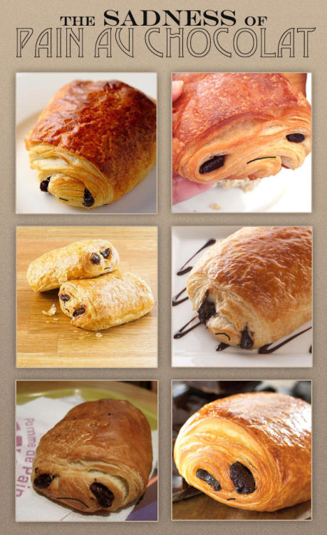 The Sadness of Pain au chocolat, by @utterben HT to my friend at TwentyFourBit