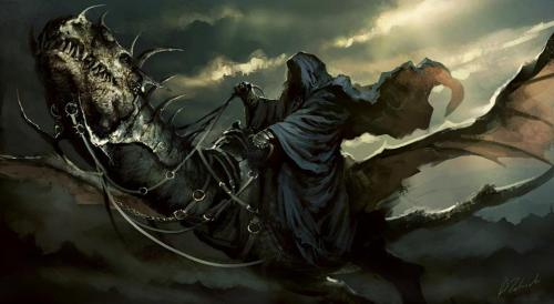 enter-a-world-of-your-own:  Nazgul.Art by Darek Zabrocki.http://daroz.deviantart.com/