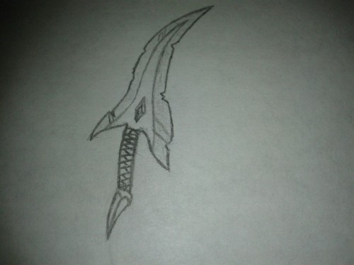 ((MOD: I was bored yesterday at work so I drew a dagger of some kind :P))