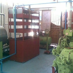 A Part of the Engine Room.