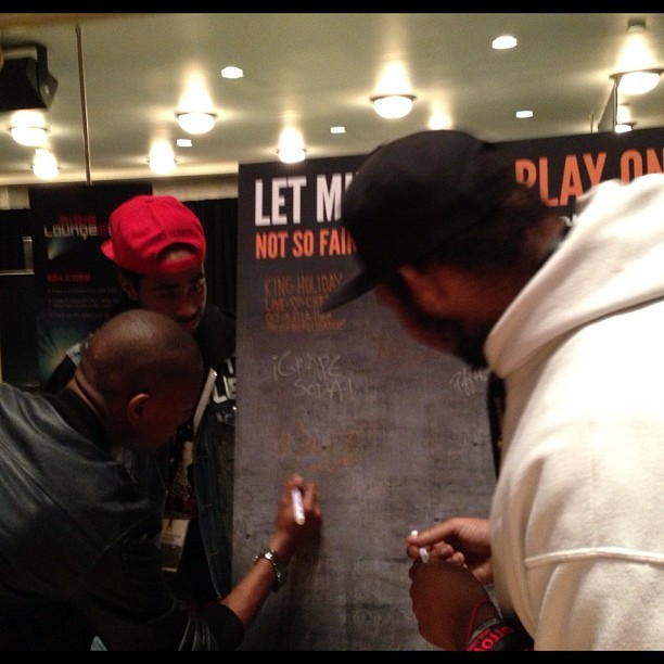 Artists such as, @wetheillest want to play on! Sign our board at #CMJ to #opposeirfa