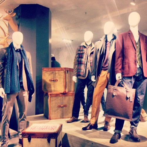 The new 6th floor for #menswear tho (at The Bay)