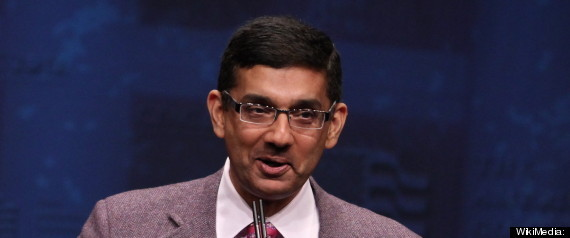 diadoumenos:  Right-wing extremist and scumbag Dinesh D'Souza has resigned in disgrace from an evangelical university after getting caught committing adultery.